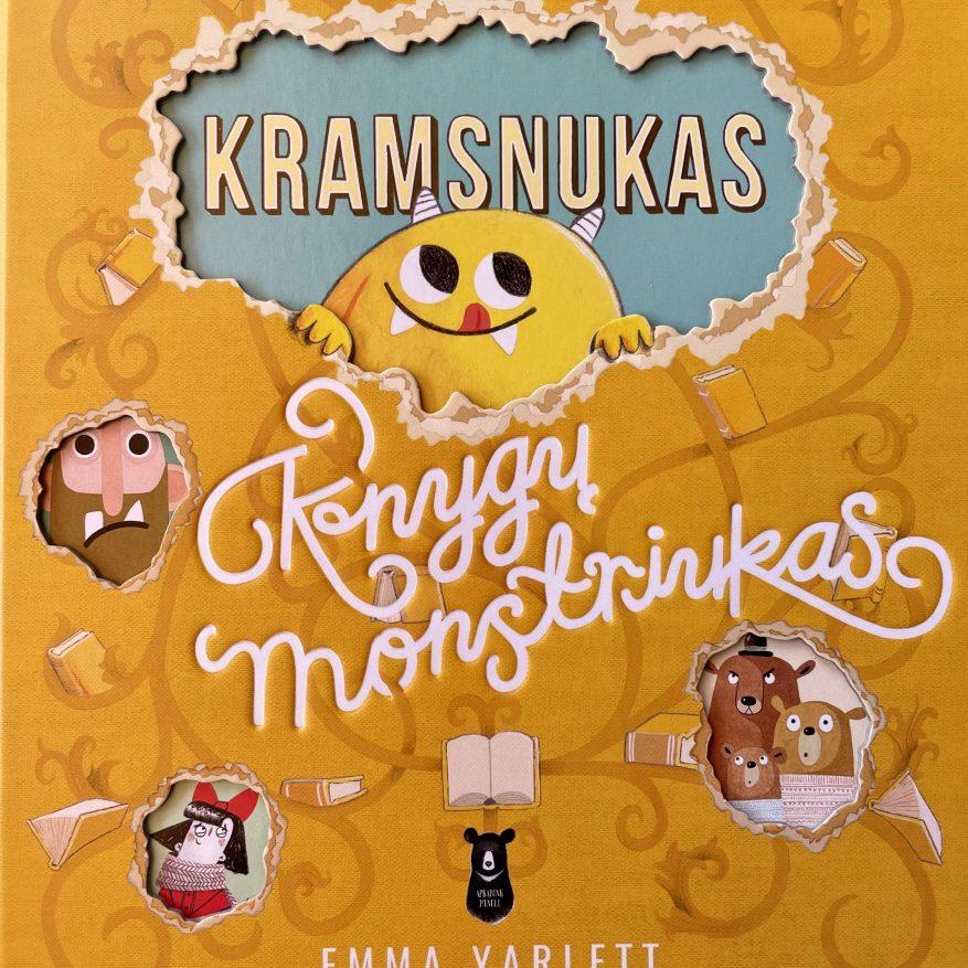 Kramsnukas knygų monstriukas
